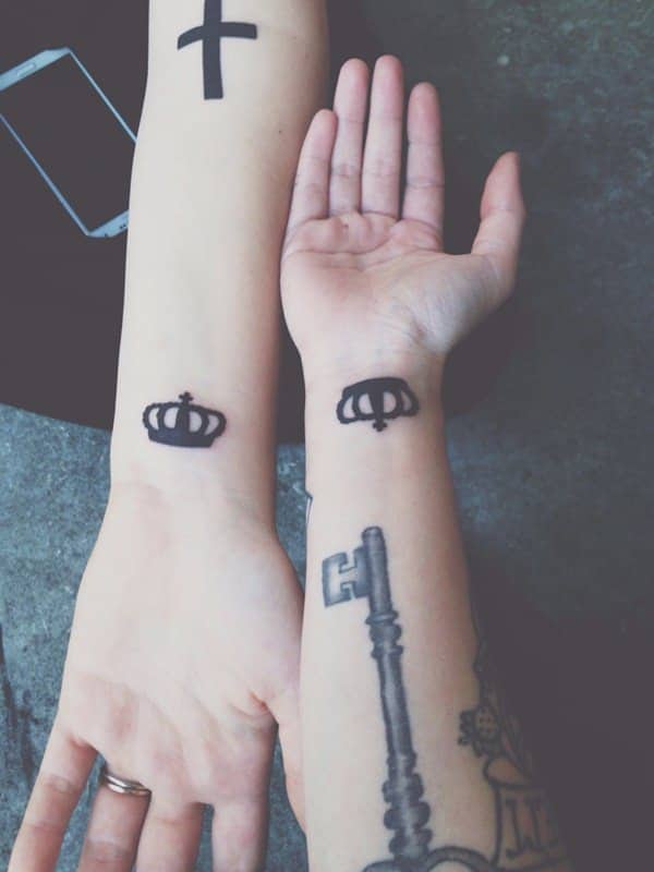 Friendship Tattoos Matching Best Friends