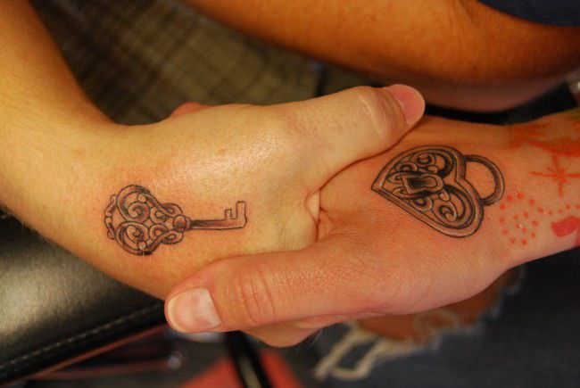2bc35db0dfb8b 250 Lovely Matching Tattoos For Couples - Wild Tattoo Art
