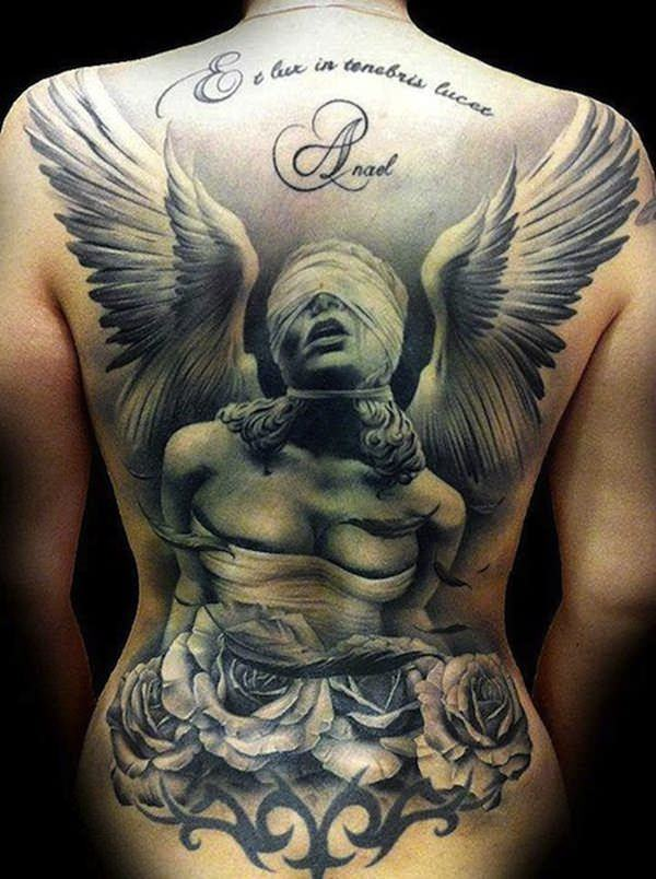 155 Charming Angel Tattoos Most Popular Designs Of 2019