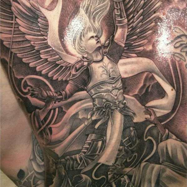 155 Charming Angel Tattoos Most Popular Designs Of 2019 Wild
