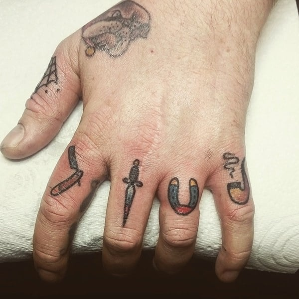 Finger Tattoos 101 Designs Types Meanings Aftercare Tips Wild
