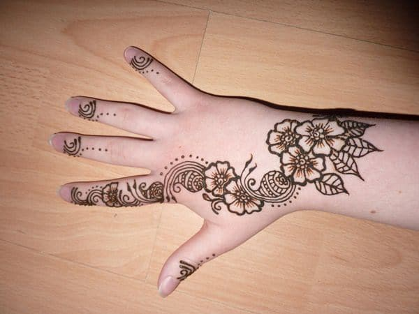 Henna Tattoo On Hands Meaning : Finger tattoos 101: designs types meanings & aftercare tips wild