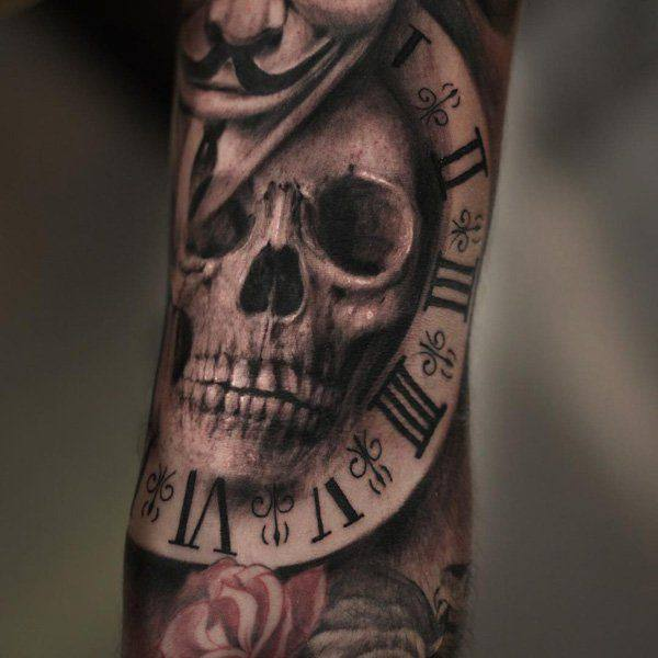 125 kick ass skull tattoos for men women wild tattoo art for Skull love tattoos