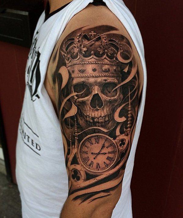 41d8bd4df Your tattoo defines your personality, so its design and placement is  completely up to you, and best defines who you are. skull-tattoos