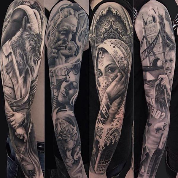 155 Kick Ass Sleeve Tattoos For Guys Gals Wild Tattoo Art