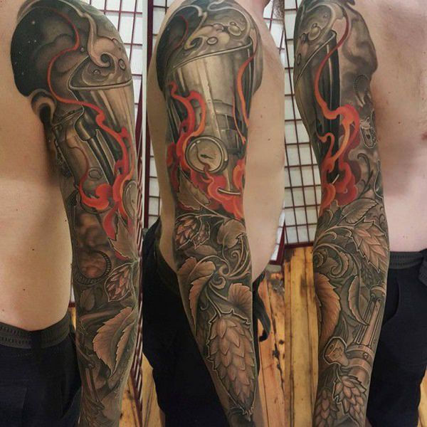 101 Best Foot Tattoo Designs And Ideas With Significant: 155+ Kick-ass Sleeve Tattoos For Guys & Gals