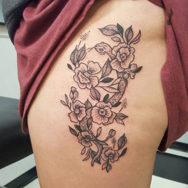 257+ Cute Tattoos for Girls 2019: Lovely Designs with Meaning & Tips 47