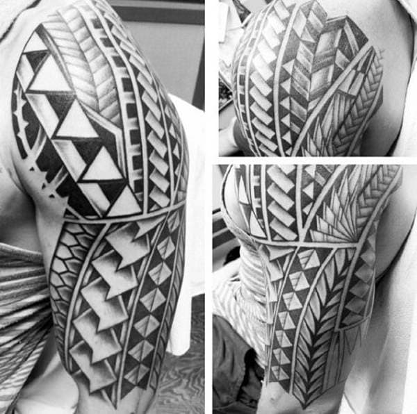 125 Tribal Tattoos For Men: With Meanings & Tips 96