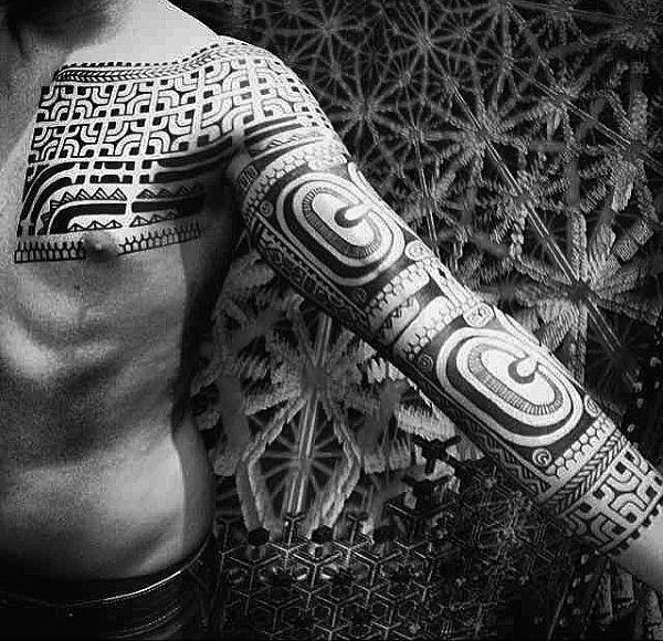 125 Tribal Tattoos For Men: With Meanings & Tips 102