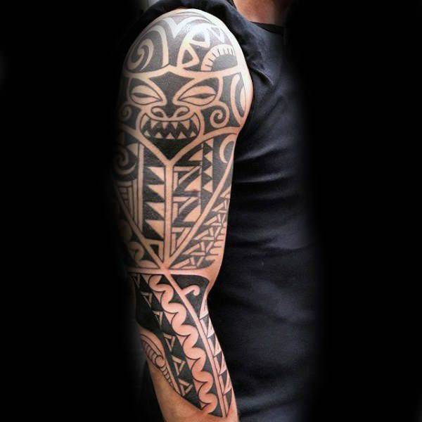 125 Tribal Tattoos For Men: With Meanings & Tips 104