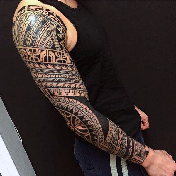 125 Tribal Tattoos For Men: With Meanings & Tips 106