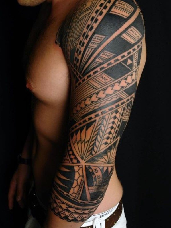 125 Tribal Tattoos For Men: With Meanings & Tips 109