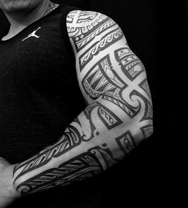 125 Tribal Tattoos For Men: With Meanings & Tips 110
