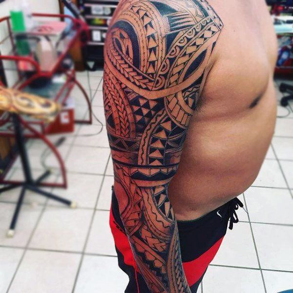 125 Tribal Tattoos For Men: With Meanings & Tips 114
