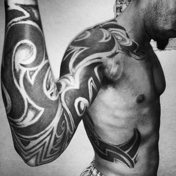 125 Tribal Tattoos For Men: With Meanings & Tips 19