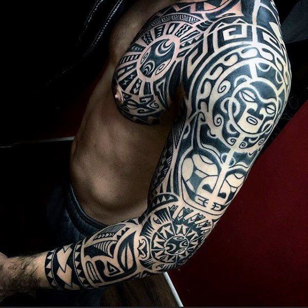 Tattoo For Men: 125 Tribal Tattoos For Men: With Meanings & Tips