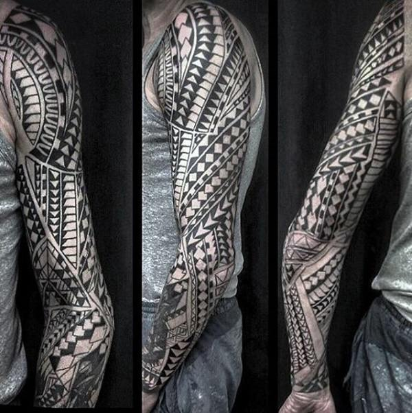 125 Tribal Tattoos For Men: With Meanings & Tips 25