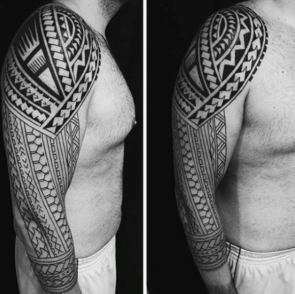 125 Tribal Tattoos For Men: With Meanings & Tips 26