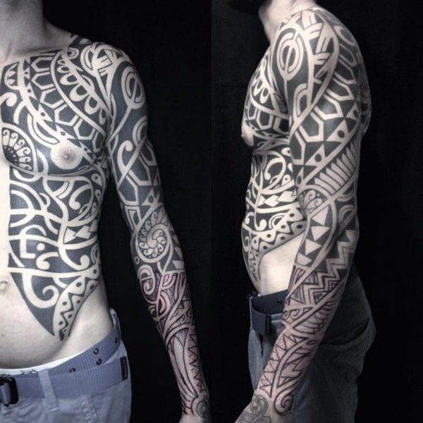 125 Tribal Tattoos For Men: With Meanings & Tips 32