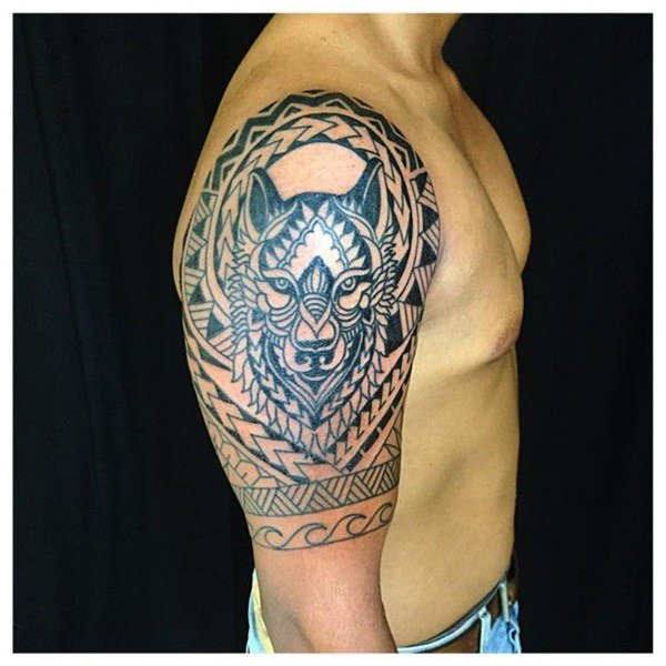 Strength Tattoos Designs Ideas And Meaning: 125 Tribal Tattoos For Men: With Meanings & Tips