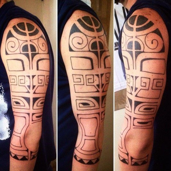 125 Tribal Tattoos For Men: With Meanings & Tips 38