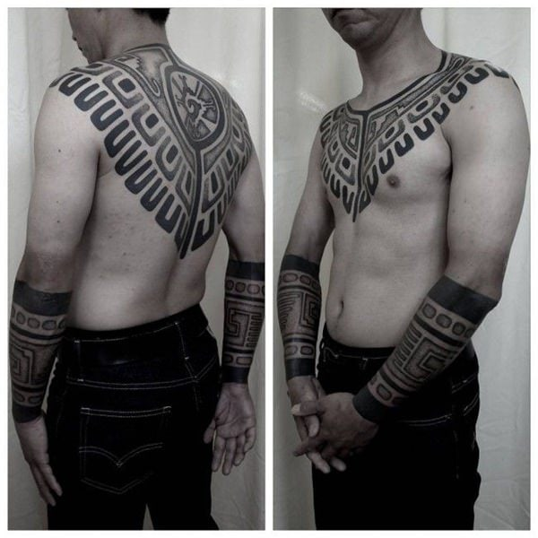 125 Tribal Tattoos For Men: With Meanings & Tips 39