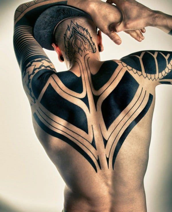 fce41ca347528 There are even some modern tribal tattoos that are more or less void of  deeper meaning for both the owner and designer: they are simply there for  ...