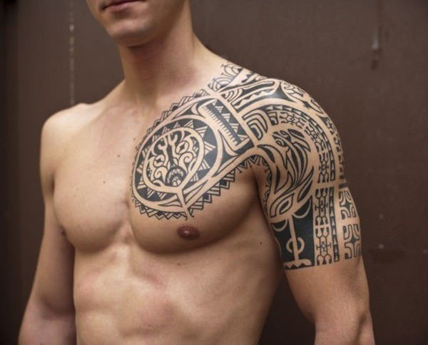 125 Tribal Tattoos For Men: With Meanings & Tips 47