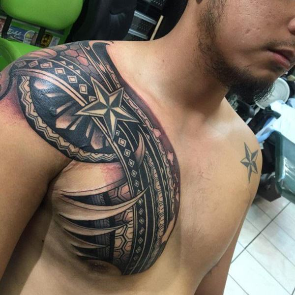 125 Tribal Tattoos For Men: With Meanings & Tips 54
