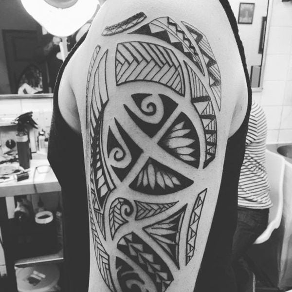 125 Tribal Tattoos For Men: With Meanings & Tips 59
