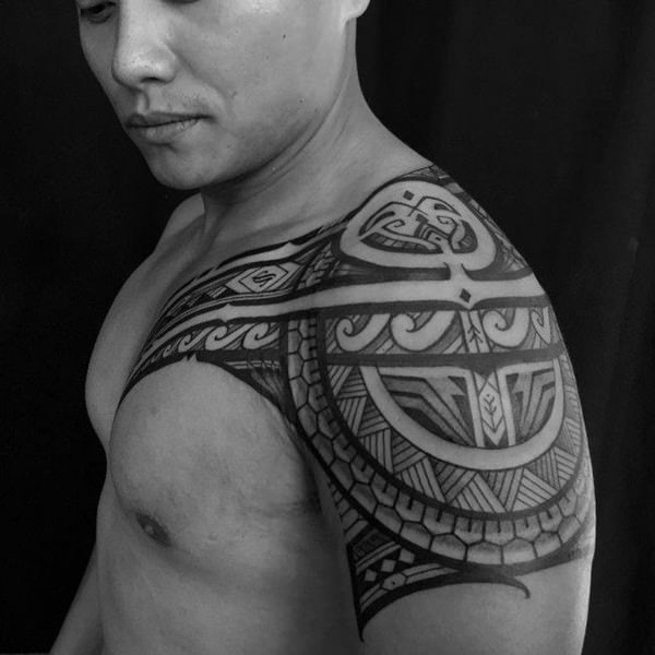 125 Tribal Tattoos For Men: With Meanings & Tips 63