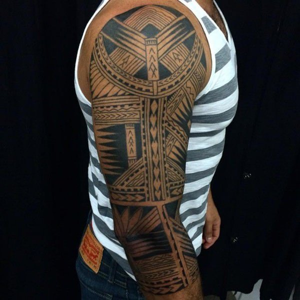 125 Tribal Tattoos For Men: With Meanings & Tips 64