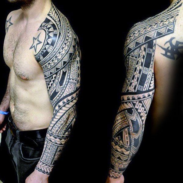 125 Tribal Tattoos For Men: With Meanings & Tips 79