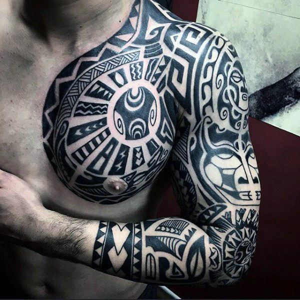 125 Tribal Tattoos For Men: With Meanings & Tips - Wild Tattoo Art