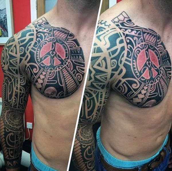 125 Tribal Tattoos For Men: With Meanings & Tips 87