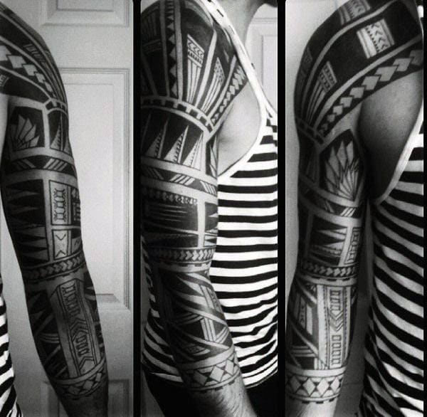 125 Tribal Tattoos For Men: With Meanings & Tips 90