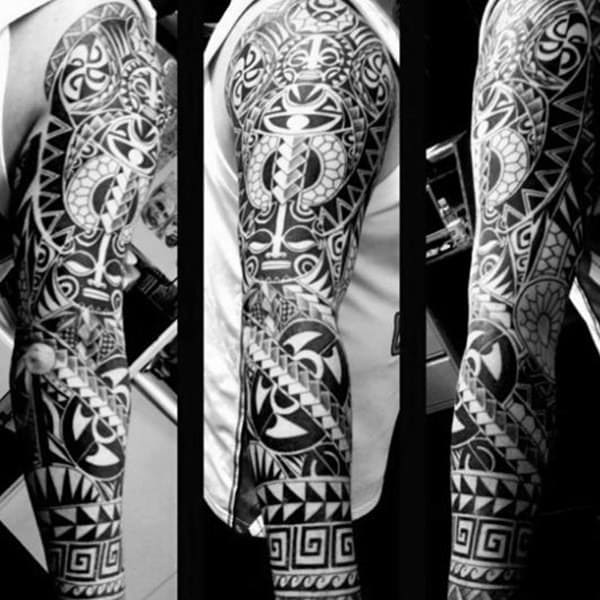 125 Tribal Tattoos For Men: With Meanings & Tips 92