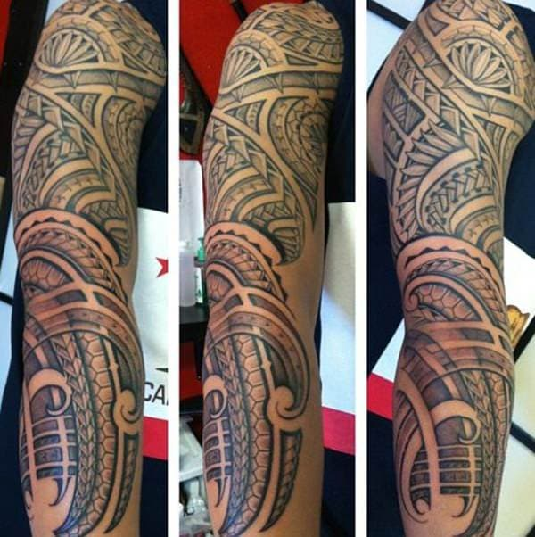 125 Tribal Tattoos For Men: With Meanings & Tips 94