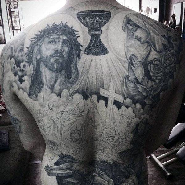 74492434d 125 Top Christian Tattoos of 2019 - Wild Tattoo Art