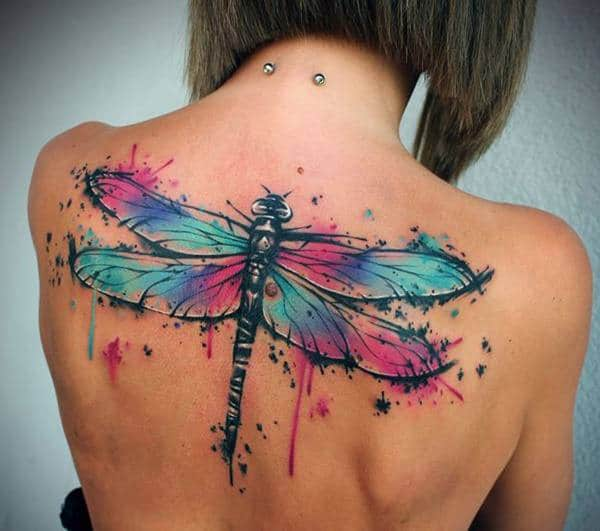 6d32db407 Ultimate Collection of Dragonfly Tattoos [155 Designs] - Wild Tattoo Art