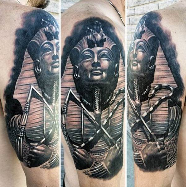 250 Egyptian Tattoos of 2018 (with Meanings) - Wild Tattoo Art