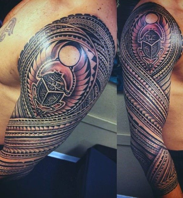 250 egyptian tattoos of 2019 (with meanings) - wild tattoo art