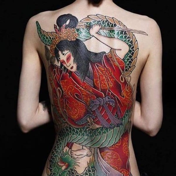 6d0c5cc8e 125 Impressive Japanese Tattoos with History & Meaning - Wild Tattoo Art