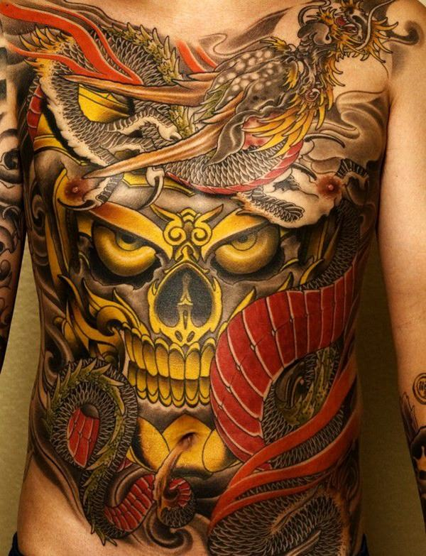 125 impressive japanese tattoos with history meaning for Association of professional tattoo artists