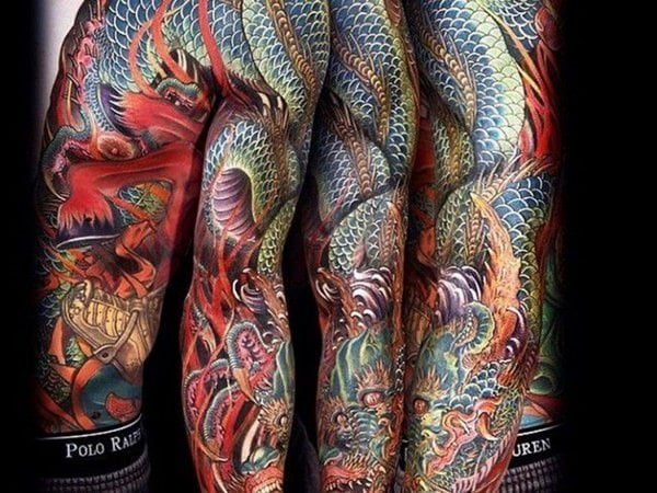 125 impressive japanese tattoos with history meaning wild tattoo art. Black Bedroom Furniture Sets. Home Design Ideas