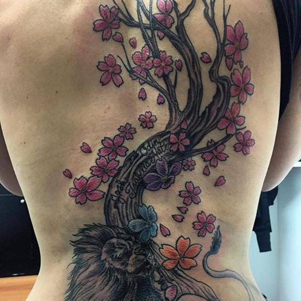 125 Cherry Blossom Tattoo Ideas You Never Knew Existed ...