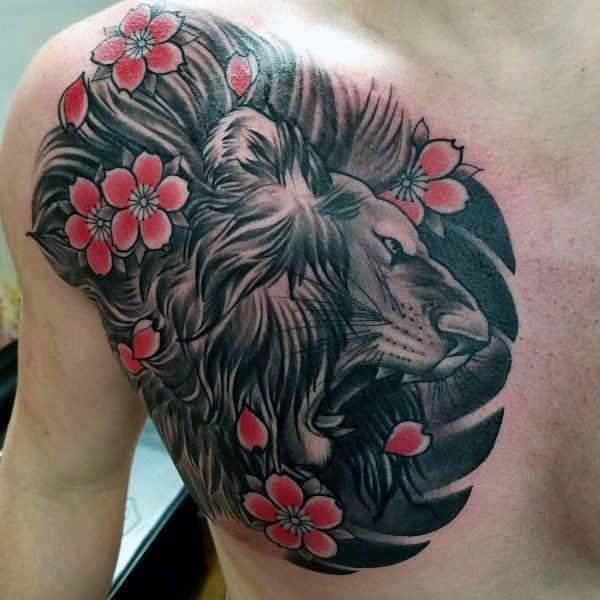 125 Best Cherry Blossom Tattoos of 2019 , Wild Tattoo Art