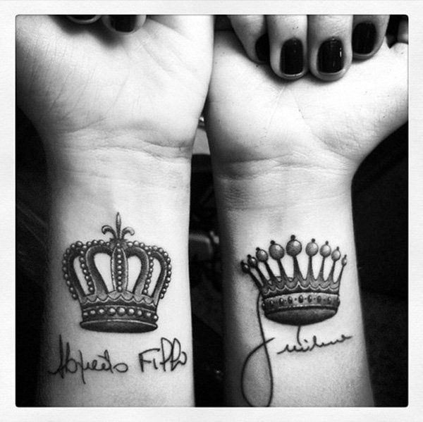 150 most sought after king and queen tattoos wild tattoo art rh wildtattooart com king crown tattoo meaning king crown tattoo on finger