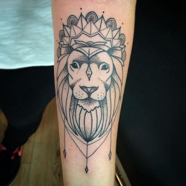 110 Best Lion Tattoo Collection of 2019 , Wild Tattoo Art