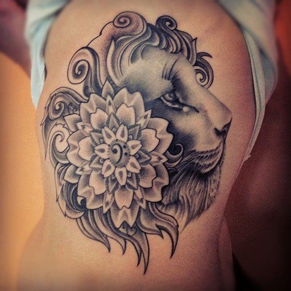 da0ef2061a0cf 110 Best Lion Tattoo Collection of 2019 - Wild Tattoo Art